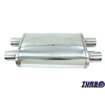 Sport középdob TurboWorks LT-04 dupla 3 dupla 3 X-Pipe